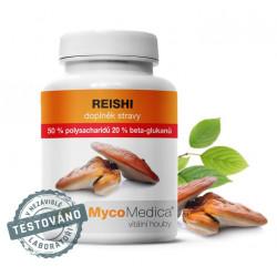 Reishi 50 % - 90 rostlinných kapslí