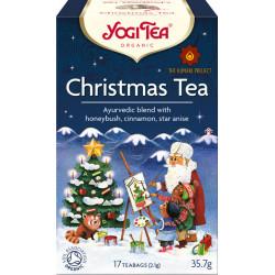 Bio Vánoční čaj Yogi Tea 17 x 2,1 g - CZ-BIO-003