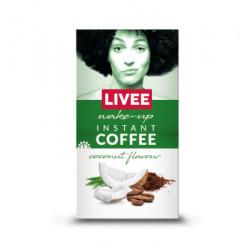 Instantní káva s příchutí kokosu 60g Livee