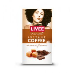 Instantní káva s příchutí karamelu 60g Livee