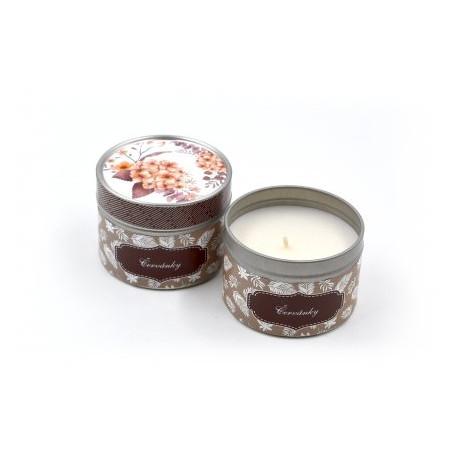 Červánky - svíčka v plechovce