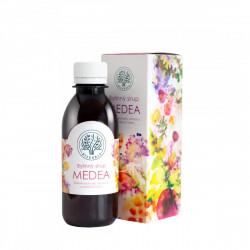 BILEGRIA MEDEA bylinný sirup pro duševní pohodu s kozlíkem a plicníkem 200 ml