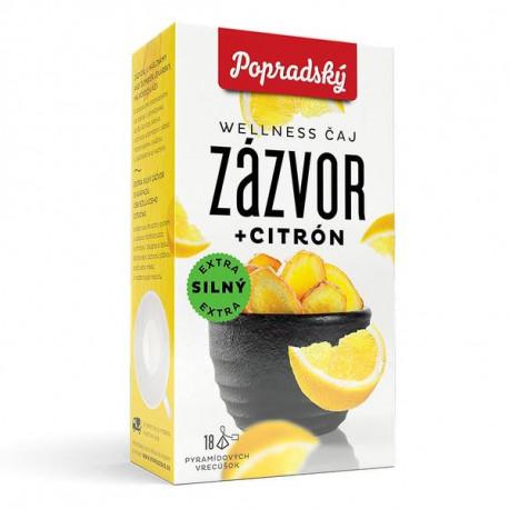 WELLNESS ČAJ zázvor + citron