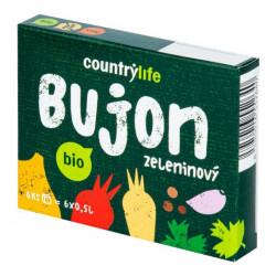 Bujon zeleninový kostky 66 g Bio Country Life